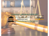 Criminal Lawyers Perth Wa (1) - Lawyers and Law Firms