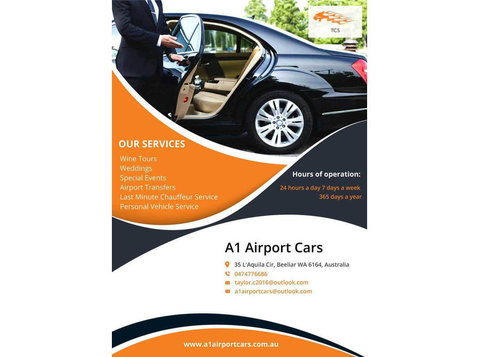 Well Priced Chauffeur Services Perth | A1 Airport Cars - Taxi Companies