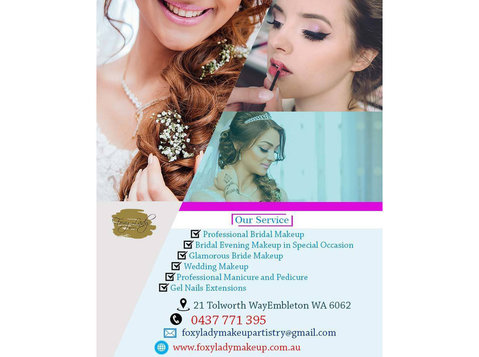 Professional Bridal Makeup Morley | Foxy Lady Makeup - Wellness & Beauty