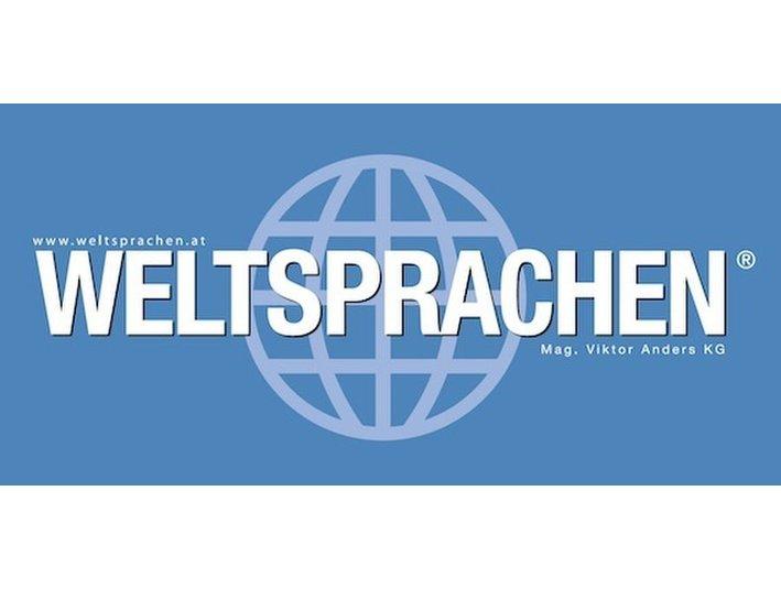 Weltsprachen - Mag. Viktor Anders KG - Language schools