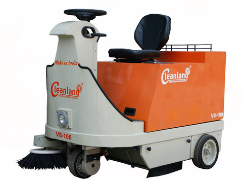 Cleanland: Battery Operated Sweeping Machine in Bahrain - Cleaners & Cleaning services