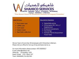 Shahico Services - Consultancy