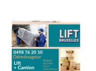 Lift Bruxelles déménagement (1) - Déménagement & Transport