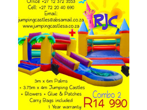Rinies jumping castles - Children & Families