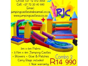 Rinies jumping castles - Children & Families
