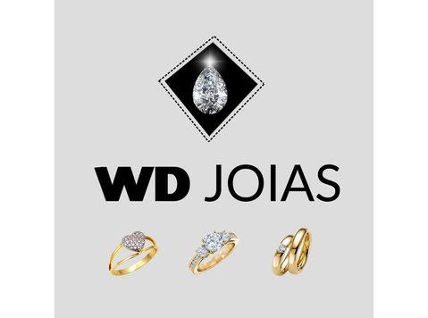 wd Joias - alianças de casamento - Jóias