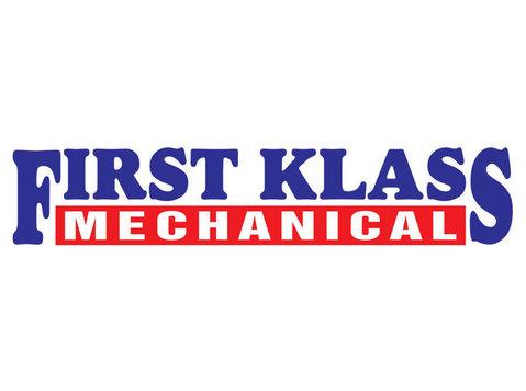 First Klass Mechanical - Plumbers & Heating
