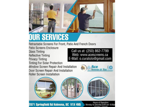 Window Tinting in Lake Country | Ace Screens & Tint - Windows, Doors & Conservatories