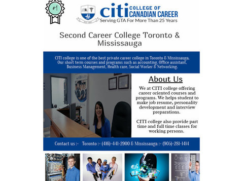 Citi College of Canadian Careers - Adult education