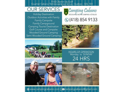 Family Campsite Témiscouata-sur-le-lac | Camping Cabano Inc - Camping & Caravan Sites