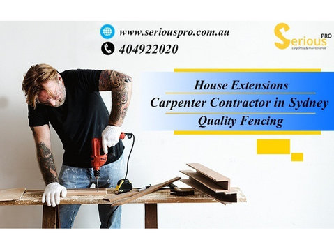 Serious Pro Pty Ltd - Carpenters, Joiners & Carpentry