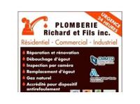 Plomberie Richard et Fils inc - Plumbers & Heating