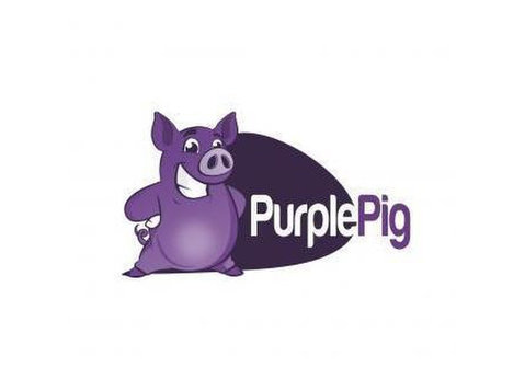 Purple Pig - Webdesign