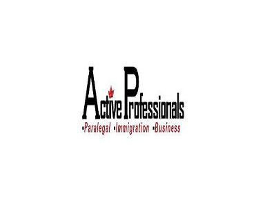 Active Professionals - Paralegal, Immigration & Business Ser - Consultancy