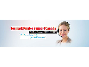 Lexmark Printer Support Canada +1 844-888-3870 - Computer shops, sales & repairs