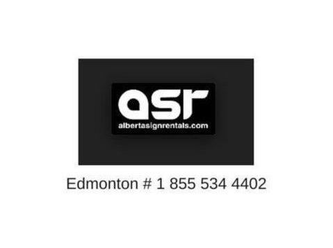 Alberta Sign Rentals - Advertising Agencies