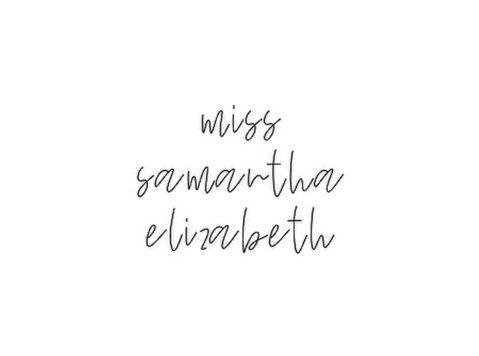 Miss Samantha Elizabeth - Consultancy