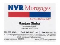 Ranjan Sinha, Mortgage Agent (2) - Insurance companies