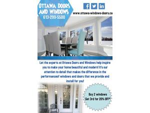 Ottawa Doors & Windows - Windows, Doors & Conservatories