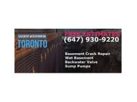 Basement Waterproofing Toronto - Leaky Basement Repair (1) - Plumbers & Heating