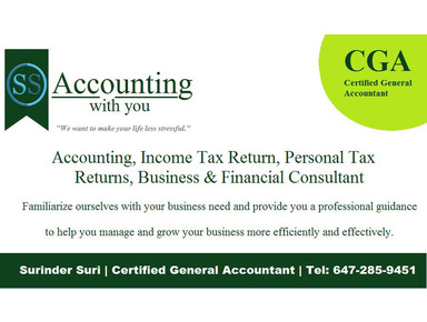Surinder Suri Cga - Business Accountants