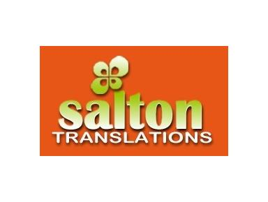 Salton Translations - Online translation
