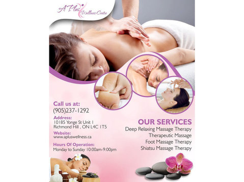 A Plus Wellness Centre - Wellness & Beauty