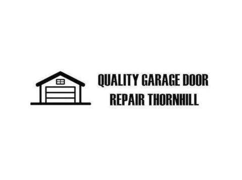 Quality Garage Door Repair Thornhill - Windows, Doors & Conservatories