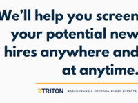 Conducting criminal background check - Triton Canada (2) - Consultancy
