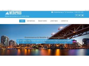 Webiprog company - Webdesign