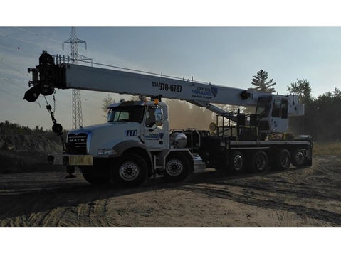 Grues Mirabel - Services de construction