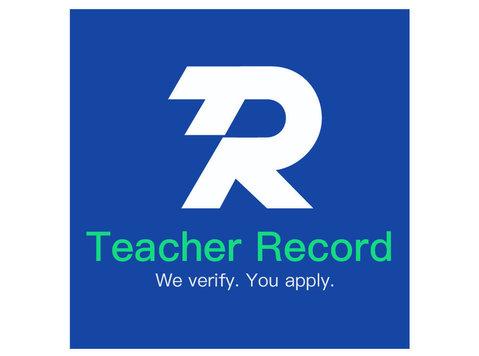 Teacher Record - Job portals