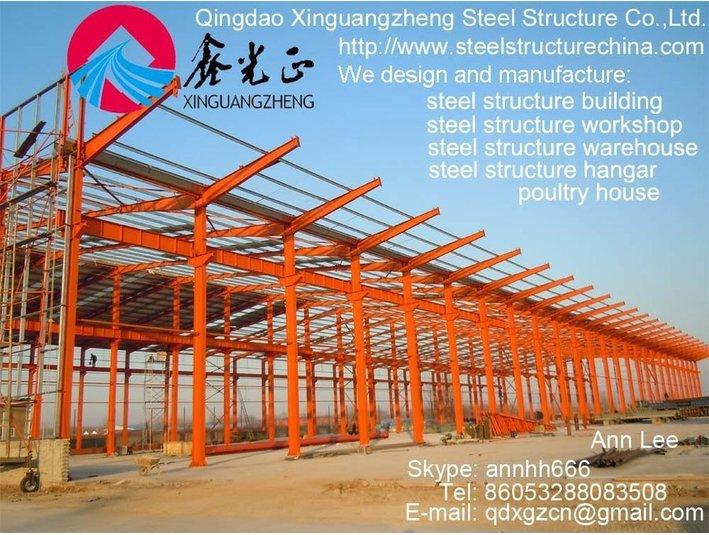 Qingdao Xinguangzheng Steel Structure Co., Ltd. - Building & Renovation