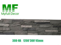 myfull decor -cornice moulding and faux stone panels (2) - Import/Export