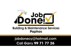 JOB DONE BUILDING & MAINTENANCE SERVICES - Building & Renovation