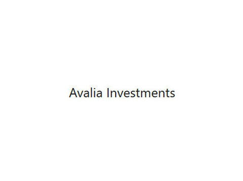Avalia Investments Limited - Бизнес Бухгалтера