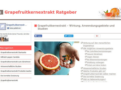 Grapefruitkernextrakt Ratgeber - Alternative Heilmethoden