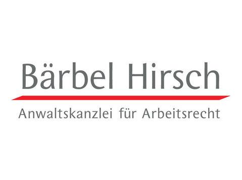 Bärbel Hirsch - Anwaltskanzlei für Arbeitsrecht - Anwälte
