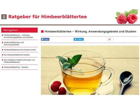 Ratgeber für Himbeerblättertee - Essen & Trinken