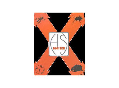 Higiser - Control de plagas - Servicios de limpieza