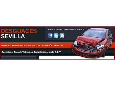 Desguaces Sevilla - Talleres de autoservicio