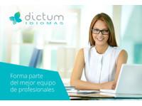 Dictum Idiomas (8) - Escuelas de idiomas