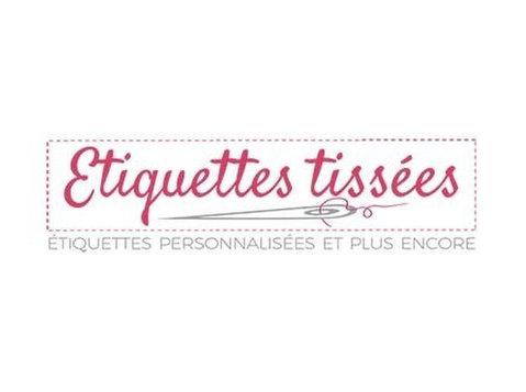 Etiquettes Tissées - Services d'impression