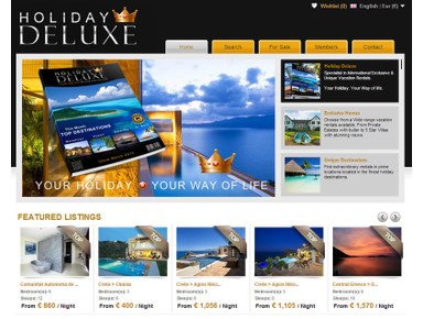 Holiday Deluxe. Luxurious Vacation Rentals worldwide. - Сезонная аренда