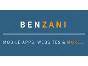 Benzani - Webdesign