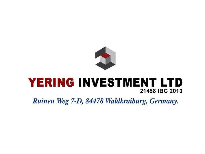 Yering Ltd - Investment banks