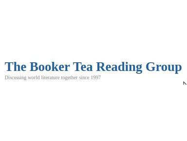 Booker Tea Reading Group - Books, Bookshops & Stationers