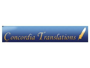 Concordia Translations - Translations
