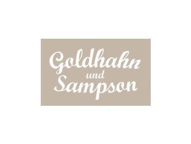 Goldhahn & Sampson - International groceries