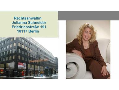 Адвокат в Германии, Берлине - Julianna Schneider - Юристы и Юридические фирмы
